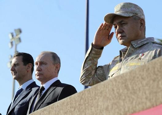 Putin Declares Mission Accomplished