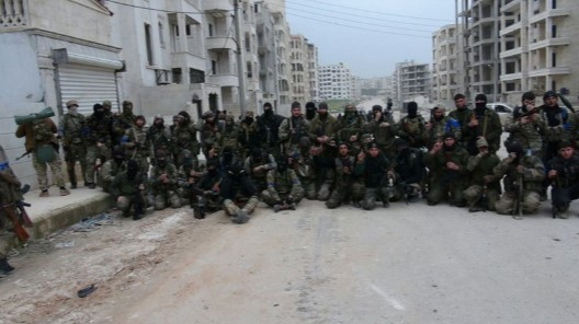 Chechen and north Caucasian militants in Syria