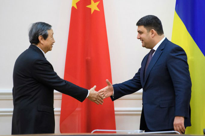 With Russia on the Sidelines, China Moves Aggressively into Ukraine