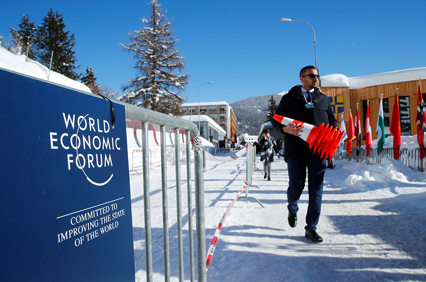 The Odd Man Out at Davos?