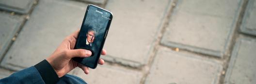 Iran TrumpPhoneBanner
