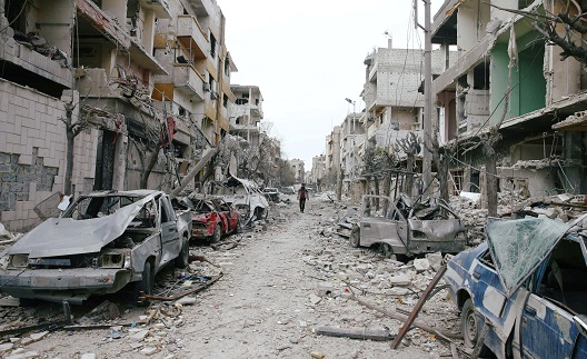 Assad Determined to Destroy What's Left of Syria: The Continued Bombardment of Eastern Ghouta