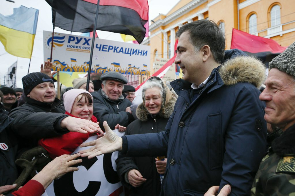 Is This the End of Mikheil Saakashvili in Ukraine?