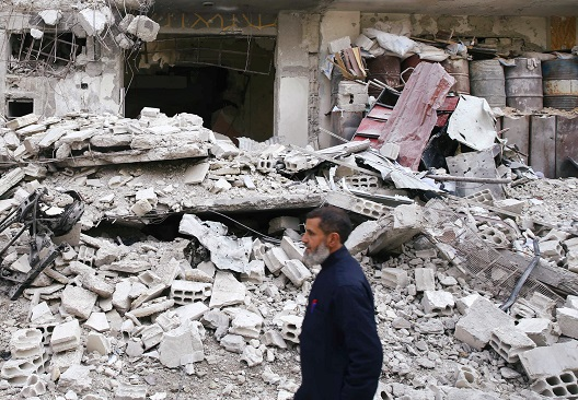 Eastern Ghouta: Voices from a Bombed-Out City