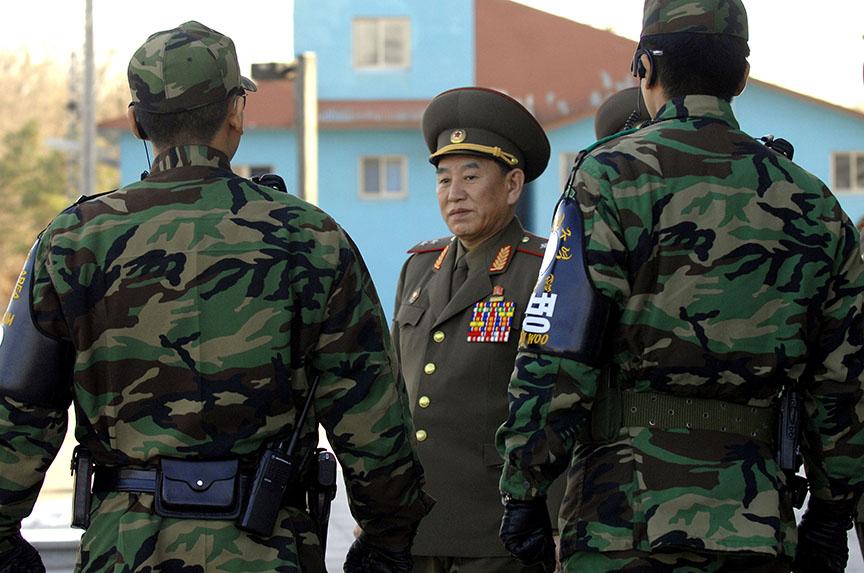 I Spy A North Korean at the Olympics