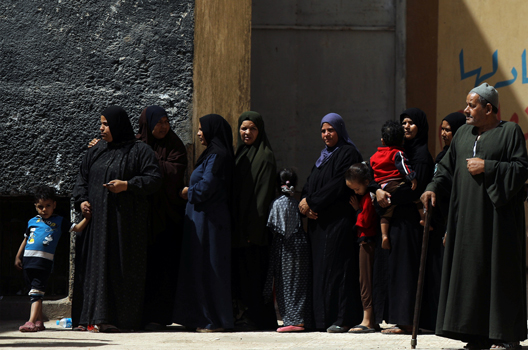 In Egypt, Voter Turnout Falls Short