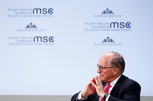 A Tribute to Wolfgang Ischinger