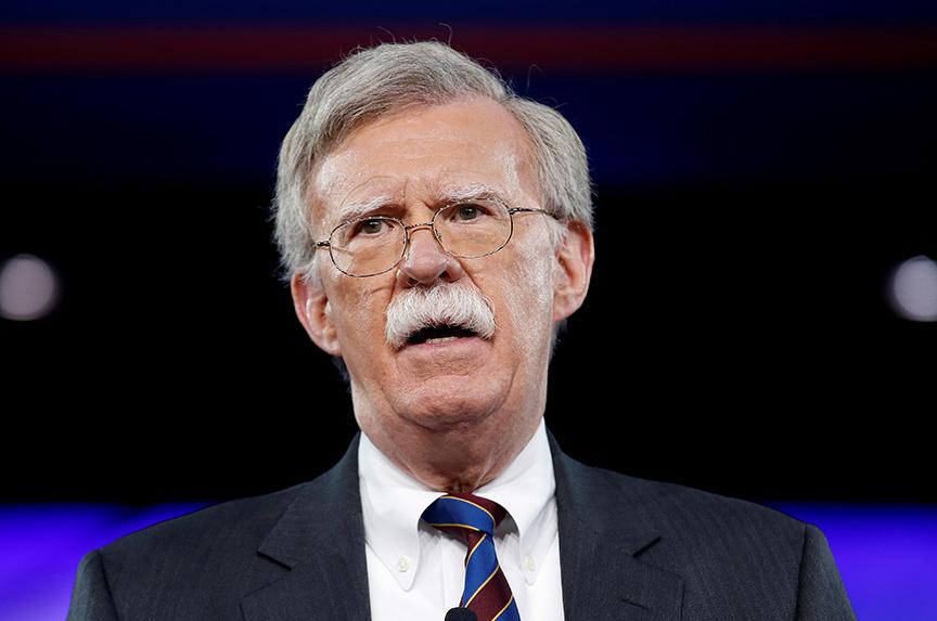 Syria: John Bolton's First Crisis