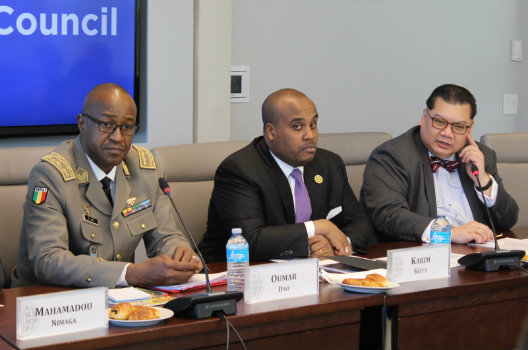 Malian officials discuss the security situation in the Sahel