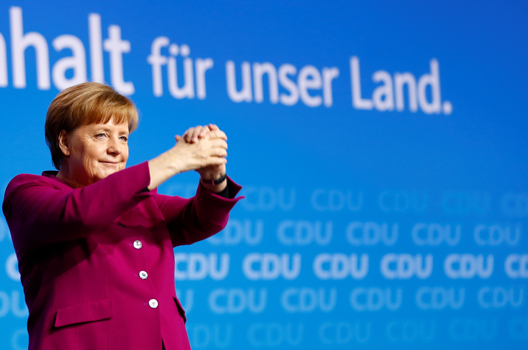 In Germany, Social Democrats Give Merkel a Fourth Term