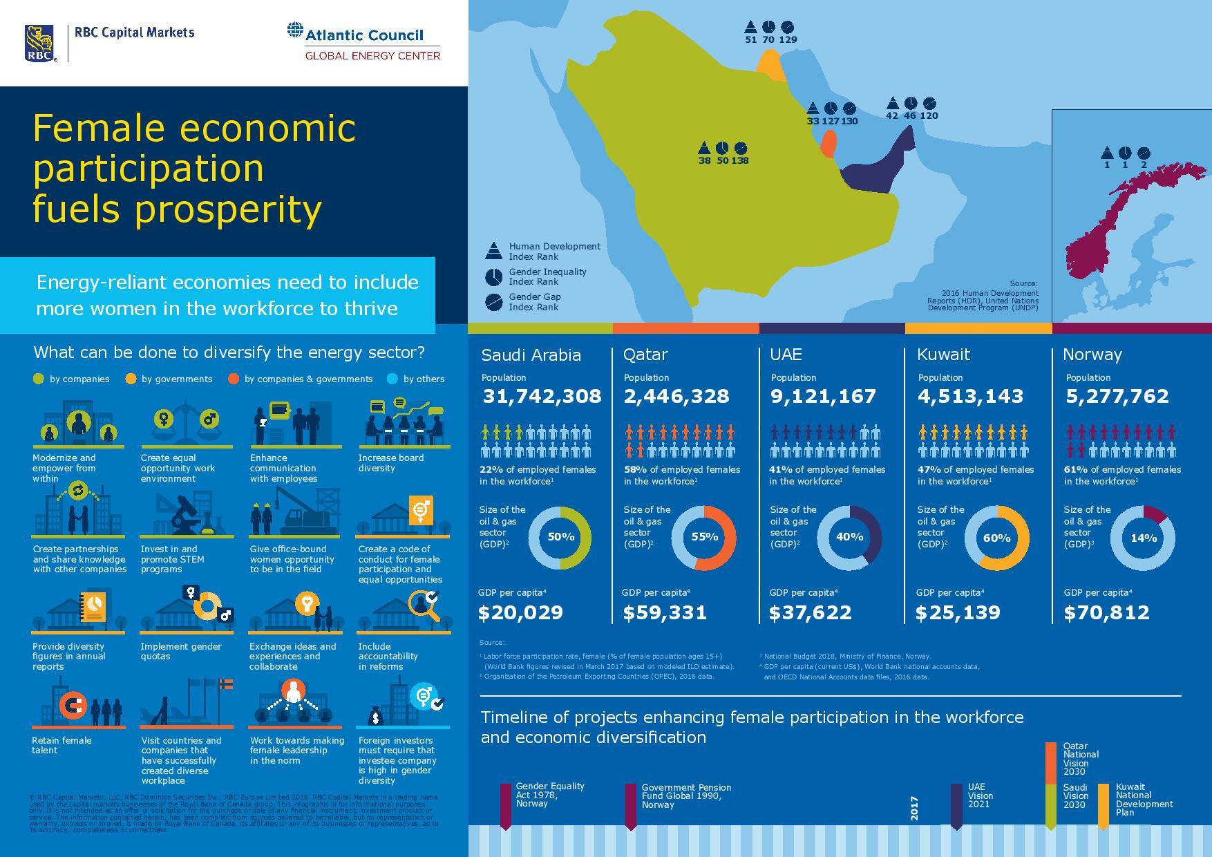 RBC Women in Energy Infographic