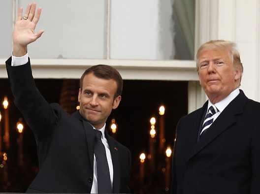Experts Analysis: Macron's visit to Washington and the Potential Impact on the US-Syria Policy