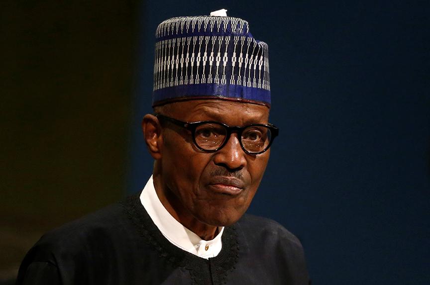 Nigeria's Buhari goes to Washington
