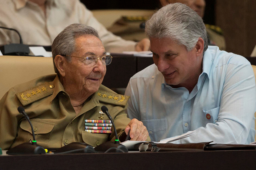 Cuba's new president sails into choppy waters
