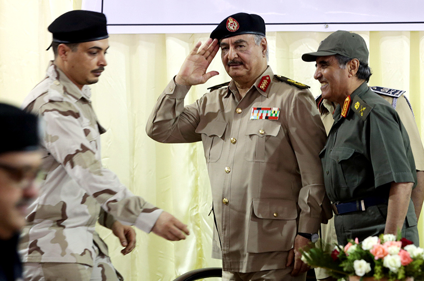 A Question Mark Over the Fate of Libya's Haftar