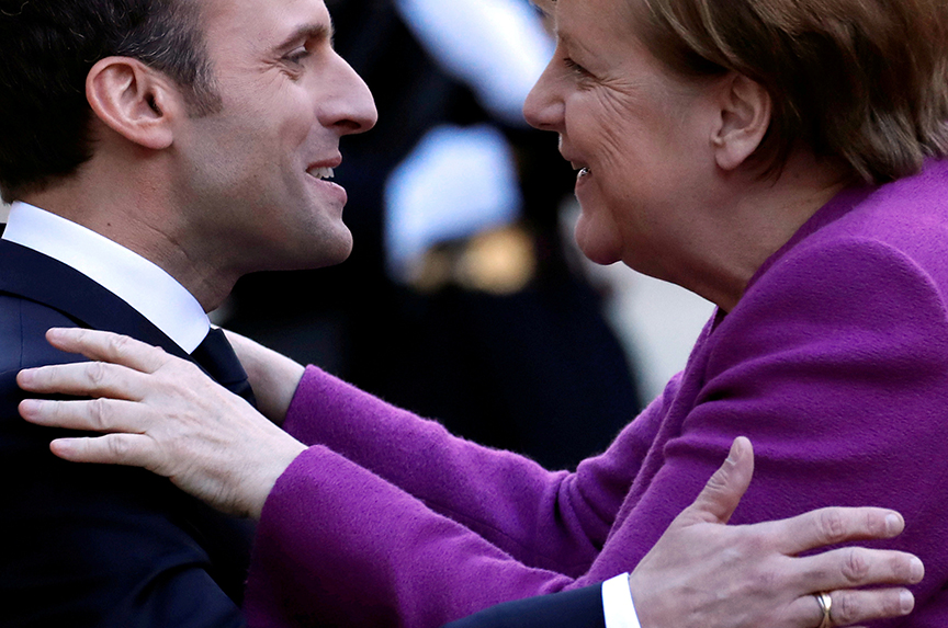 Can the Competing Logic of Macron, Merkel—And Structural Change in Europe—Coexist?