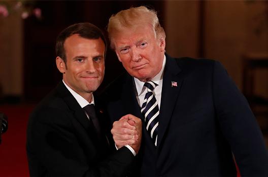 Emmanuel Macron's Balancing Act