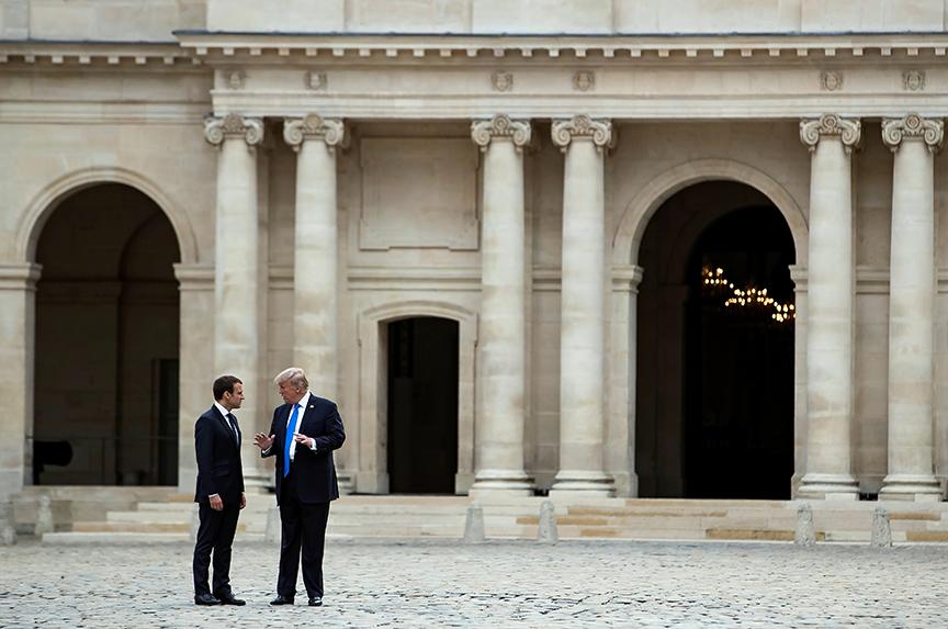Emmanuel Macron: The Trump Whisperer?