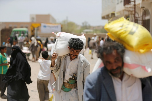 The problem with humanitarian assistance in Yemen