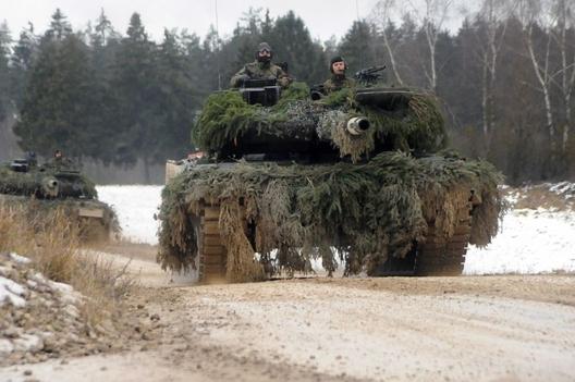 German Leopard 2, December 2011, (US Army).