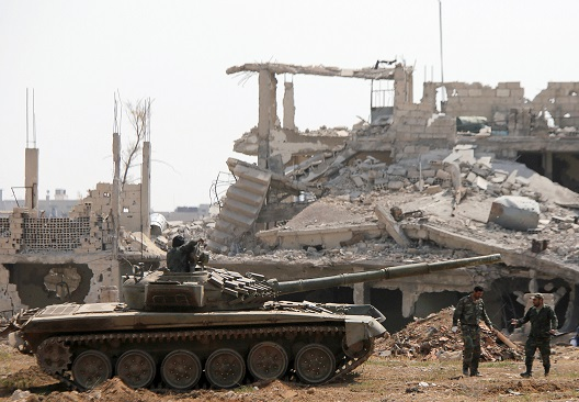 The Regime's Strategy in Southern Damascus: Securing its Southern Front