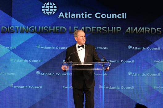 George W. Bush Warns Against Isolationism