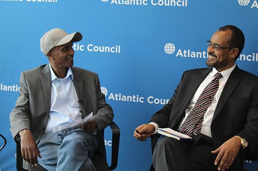 Bekele Gerba and Eskinder Nega discuss political situation in Ethiopia
