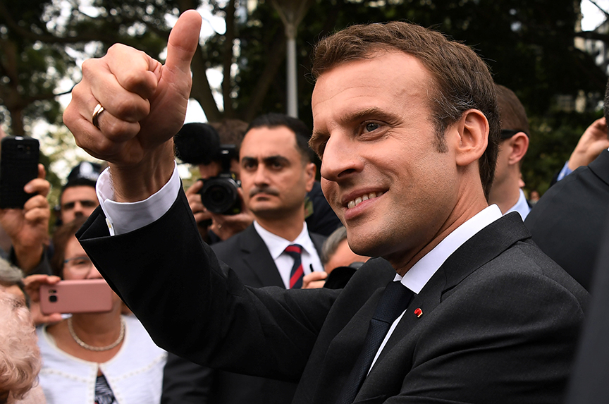The French Paradox of Emmanuel Macron