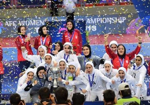 Iranian women fans rejoice at stadium access