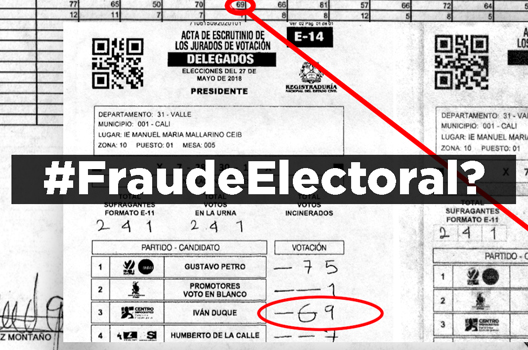 #ElectionWatch: Fraud Claims in Colombia