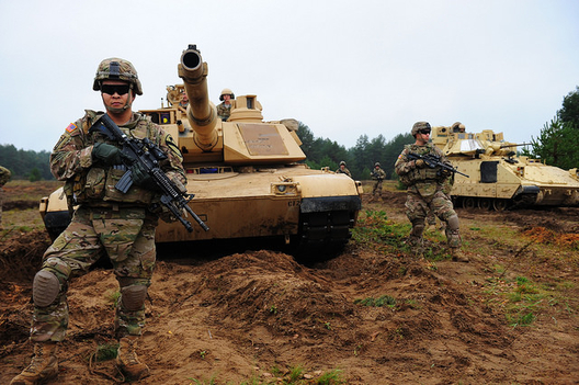Soldiers from the 1st Cavalry Division deployed in Europe, October 14, 2014 (photo: US Army/Sgt. Daniel Cole)