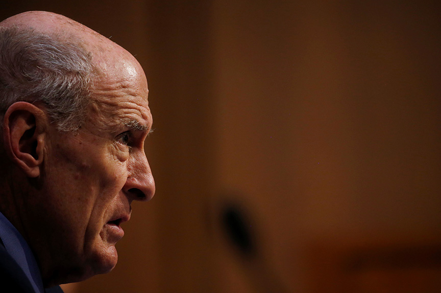 Director of National Intelligence Dan Coats: 'Look at the Actions of the Russian State, Not Putin's Pronouncements'