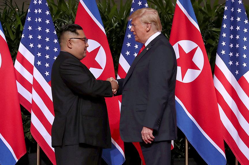 Trump and Kim Jong-un Make History