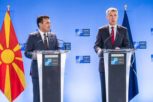 Secretary General Confident NATO Will Next Week Invite Republic of Northern Macedonia to Join Alliance