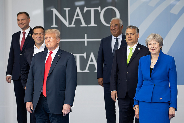 Trump Reveals He was 'Very Firm' with NATO Allies