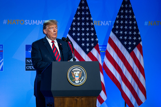 Trump on NATO Summit: 'Yes, There Was Fighting'