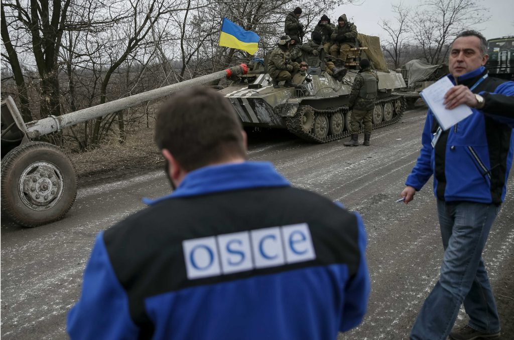 Russia has no place in the OSCE special monitoring mission in Ukraine