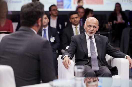 Ghani hopeful 'real' dialogue will bring peace to Afghanistan