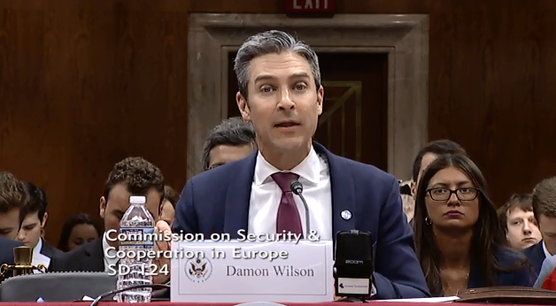 "Wilson Testifies Before the US Helsinki Commission on ""Russia's Occupation of Georgia and the Erosion of the International Order"""