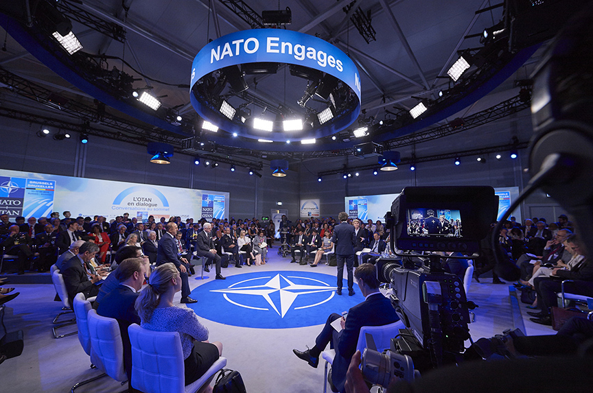 NATO Ministers Preach Unity, But Divisions Persist