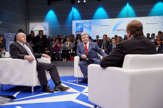 Poroshenko Expects Ukraine to be a Priority When Trump Meets Putin