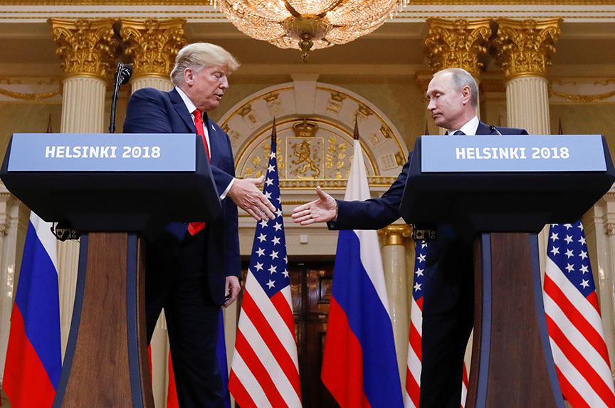 Trump Picks Putin