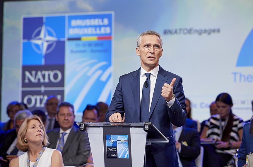 NATO's Stoltenberg Credits Trump as Allies Increase Defense Spending