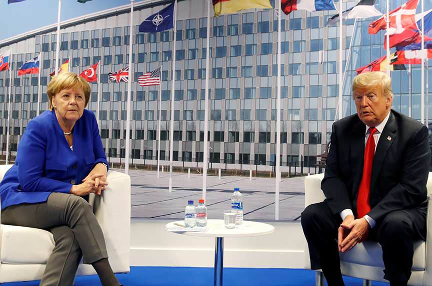 The Trump-Merkel Showdown