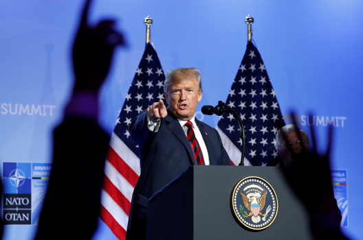 Trump's NATO Strategy: Shake, Rattle, and Commit