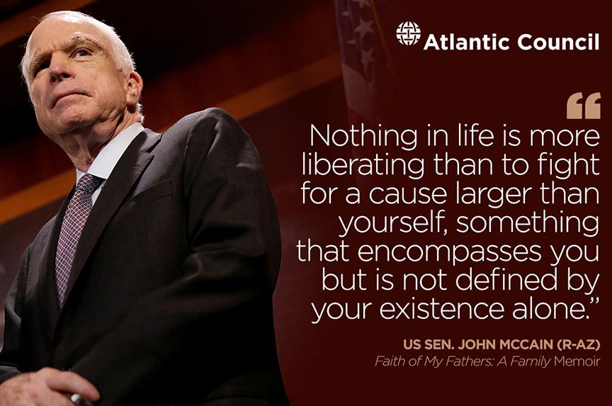 Sen. John McCain: Saluting a Champion of Freedom