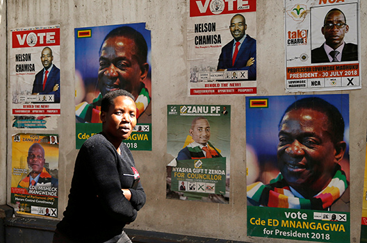 Uncertainty and a Need for Leadership After Zimbabwe's Election