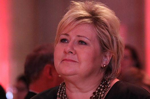 Atlantic Council presents Global Citizen Award to Prime Minister of Norway Erna Solberg