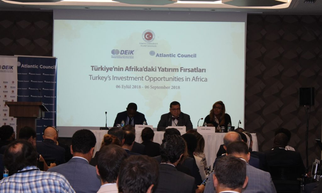 Turkey's investment opportunities in Africa