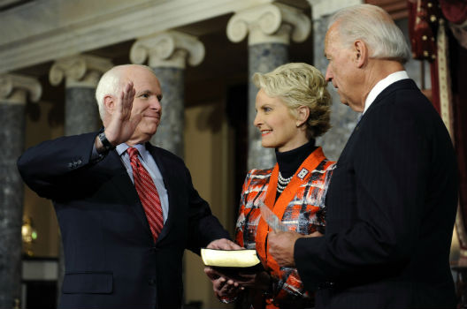 McCain's 'Causes greater than ourselves'